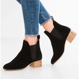 ✨ NWOT Topshop Barley Suede Heeled Boots ✨